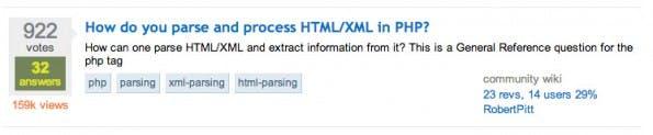 Eine beliebte Frage auf Stack Overflow mit rund 160.000 Aufrufen. (Screenshot: stackoverflow.com)