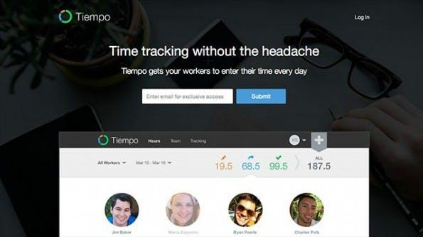 Tiempo zählt zu den Time-Tracking-Lösungen, die sich auch für die Rechnungsstellung nutzen lassen. (Bild: Tiempo)
