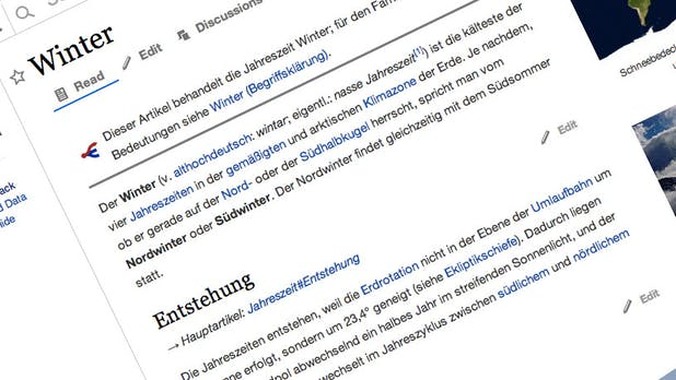 Wikipedia-Redesign: Prototyp zeigt, wohin die Reise gehen soll