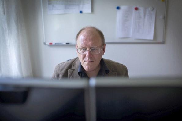 Sverker Johansson zeichnet für 2,7 Millionen Wikipedia-Artikel verantwortlich. (Foto: Ellen Emmerentze Jervell/The Wall Street Journal)