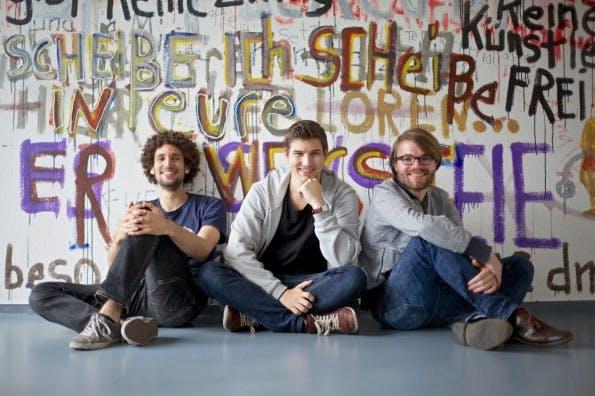 Das Yeppt-Team. (Foto: Axel Springer Plug & Play)