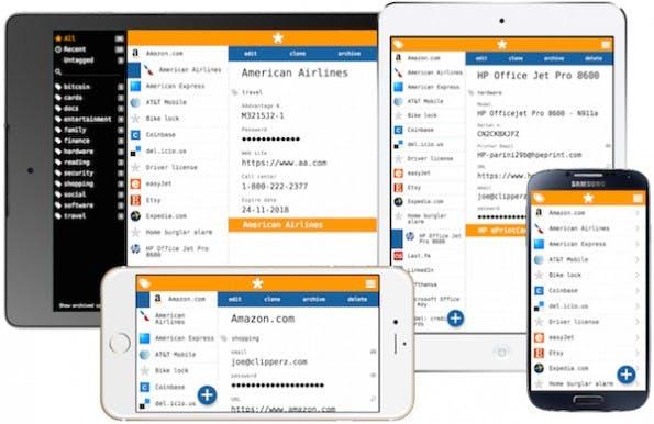 Der Passwort-Manager Clipperz ist kostenlos und Open-Source. (Screenshot: Clipperz)
