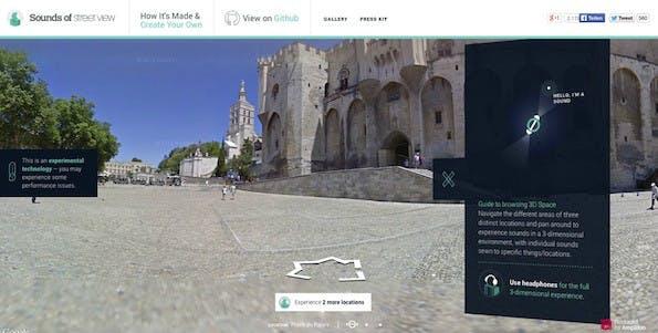 Sounds of Street View: Amplifon schickt dich auf virtuelle Städtereise mit Geräuschen