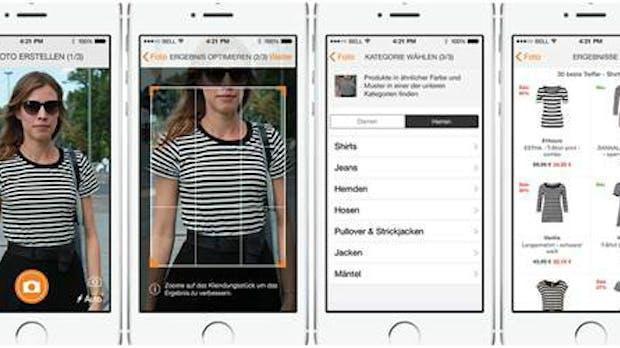 Zalando-App: Foto scannen und das passende Outfit gleich kaufen
