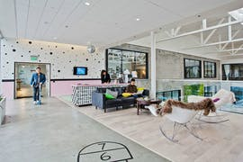 Das Büro von Airbnb in San Francisco. (Foto: Emily Hagopian)