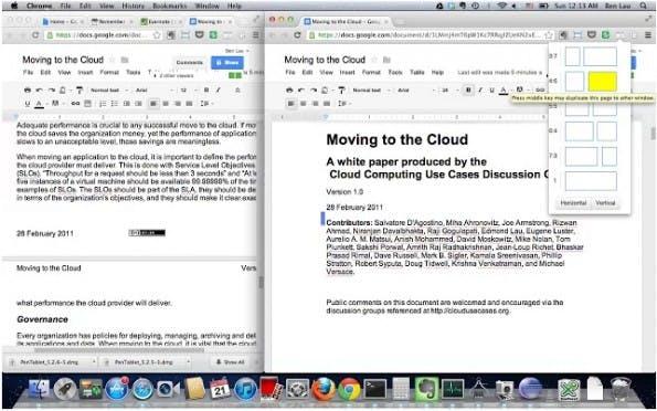 Dualles ist eine praktische Erweiterung um Browser-Fenster nebeneinander anzuordnen. (Screenshot: Chrome Web Store)