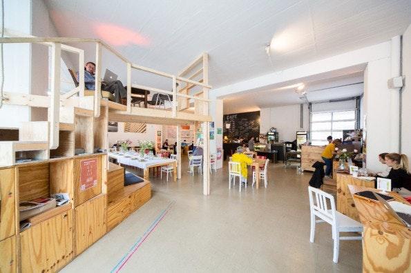 Der Coworking-Space betahaus. (Foto: Betahaus)