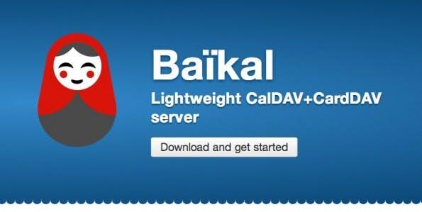 Baïkal ist schnell installiert und flexibel einsetzbar. (Screenshot: Baïkal)
