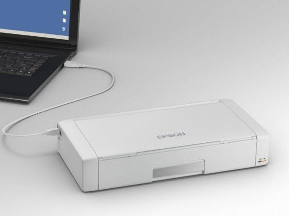 Der kleinste Drucker der Welt. (Foto: Damngeeky.com)