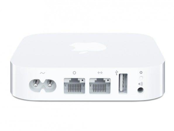 Signal Booster für WLAN von Apple. (Foto: Apple)