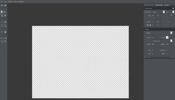 Funktioniert auch im Browser: Die Design-Suite Gravit. (Screenshot: Gravit)