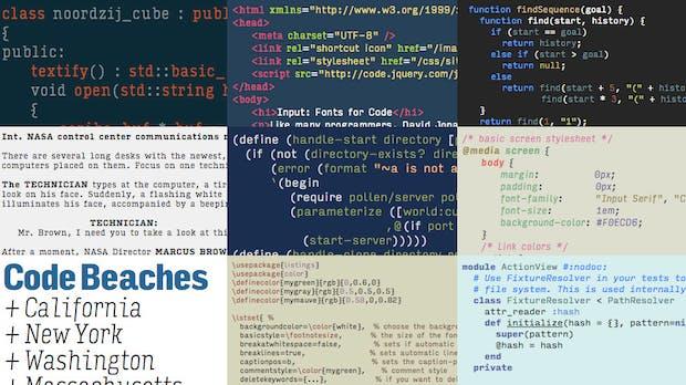 """Monospaced war gestern: Darum gibt es den Coding-Font """"Input"""" auch als proportionale Schriftart"""