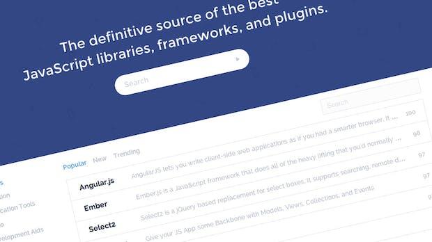 Tolle JavaScript-Datenbank: Die besten Libraries, Frameworks und Plugins im Überblick