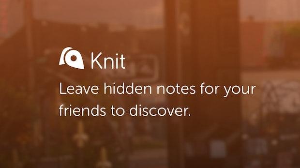 """""""Die Muffins hier musst du probieren!"""" – Mit der Knit-App kannst du Notizen in deiner Nähe verstecken"""