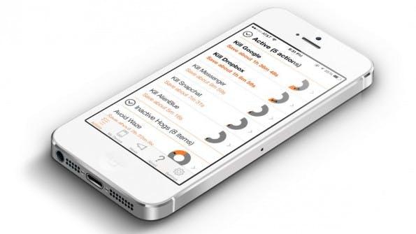 Normal hilft euch dabei, die Akkulaufzeit eures iPhones zu erhöhen. (Grafik: ShapeitApp / App-Store)