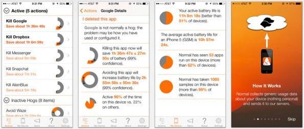 Normal verrät euch, welche iOS-Apps euren Akku aussaugen. (Screenshot: iTunes)