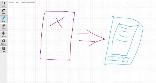 Whiteboard Fox: Das super simple Online-Whiteboard für Teams. (Screenshot: Whiteboard Fox)