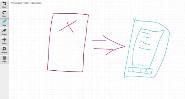 Whiteboard Fox: Das super simple Online-Whiteboard für Teams. (Screenshot: Whiteboard Fox)