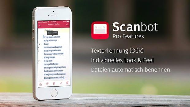 scanbot pro doo unternimmt mit beliebter scanner app den. Black Bedroom Furniture Sets. Home Design Ideas