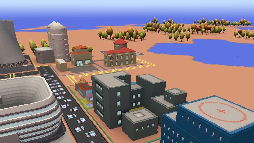 Sim City für den Browser: Mit diesem Chrome-Experiment wirst du zum Stadtplaner