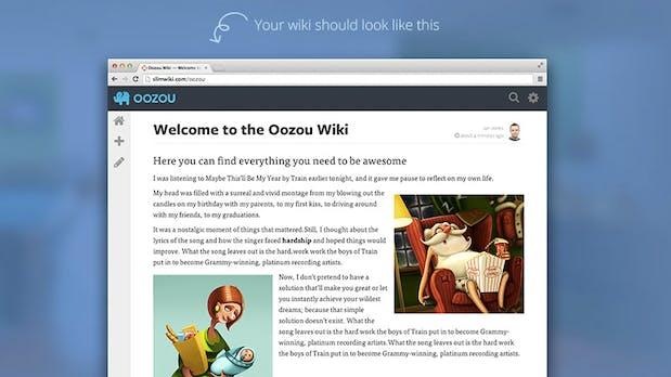 So schön und einfach kann ein Wiki sein: SlimWiki – eine schicke Plattform für Teams