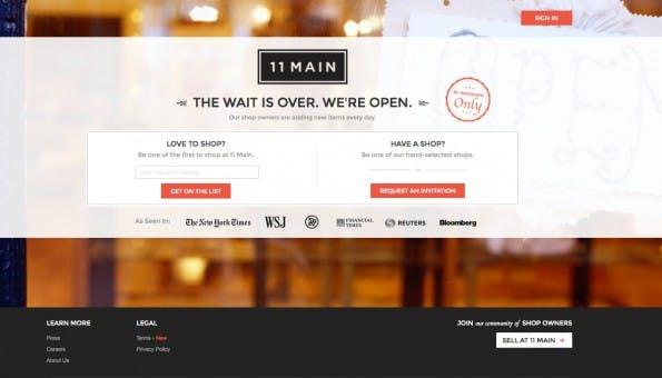 (Screenshot: 11main.com)