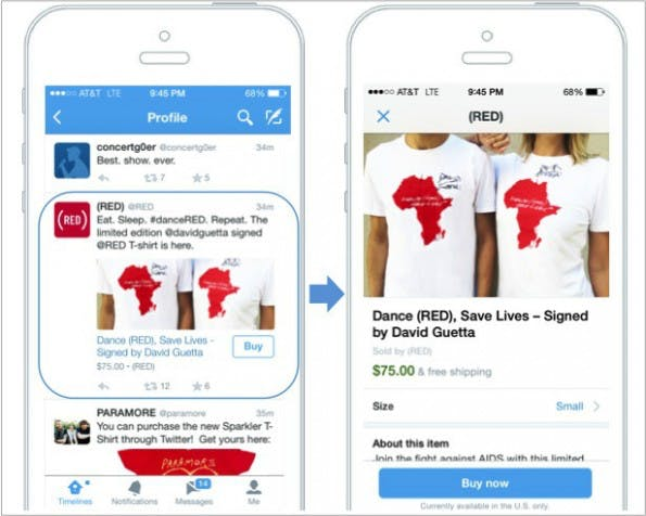 Buy Button Twitter