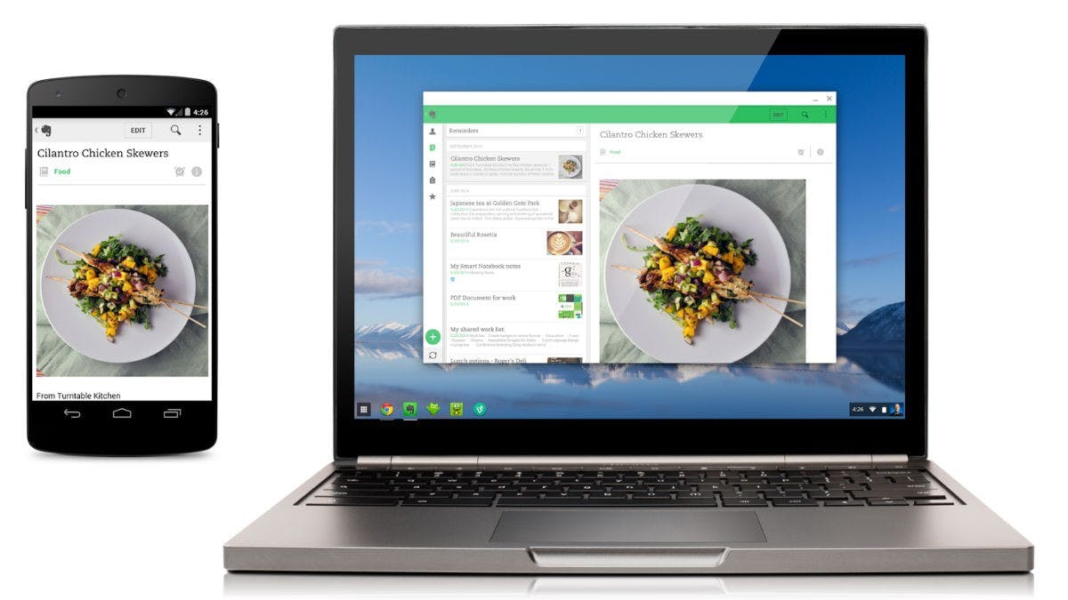 Chromebook kann jetzt auch Android Apps