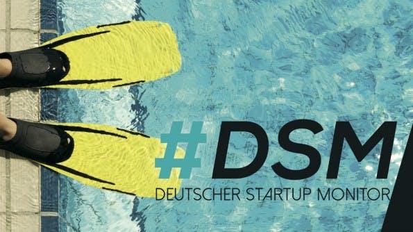 Deutscher Startup-Monitor 2014 erschienen. Die Fakten im Überblick. (Screenshot: t3n)