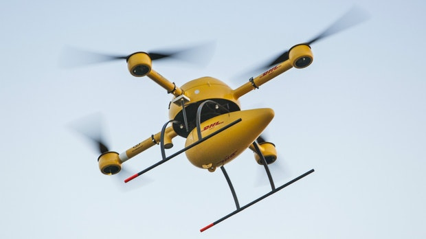 Drohne als Paketbote: Jeder Dritte würde den Dienst gerne nutzen