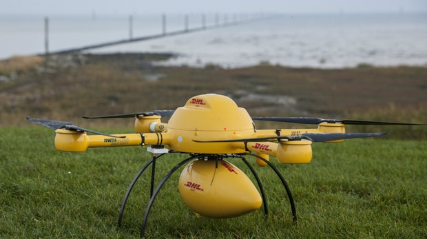 DHL auf Wolke Sieben: Paket-Drohne ab sofort im Einsatz
