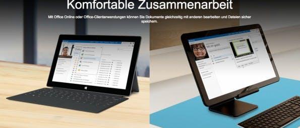 Dropbox-Alternativen: Mit OneDrive macht Microsoft Google Konkurrenz. (Screenshot: Microsoft)