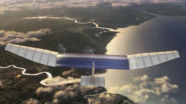 Facebook schickt Internet-Drohnen ab 2015 in die Luft