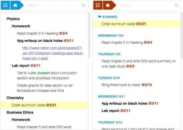 Moo.do kombiniert verschiedene Funktionen um die Organisation eures Alltags zu erleichtern. (Screenshot: Moo.do)