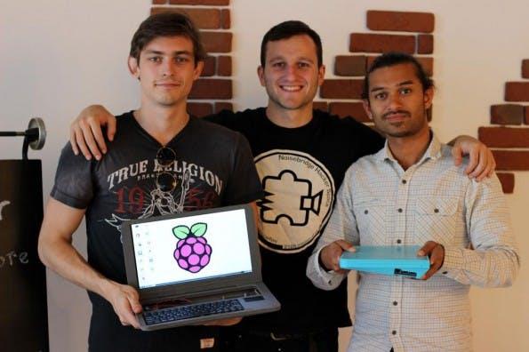 Pi-Top: Mit dem Kit macht ihr aus einem Raspberry Pi ein Notebook. (Foto: Pi-Top)