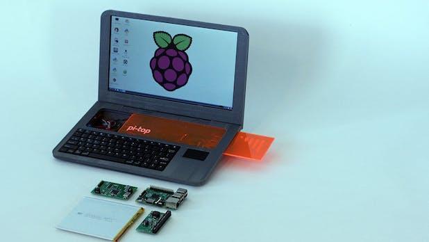 Ein Notebook aus dem 3D-Drucker: Pi-Top macht aus eurem Raspberry Pi einen Laptop
