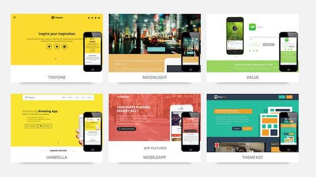 Responsive Webdesign für lau: Diese Website bündelt mehr als 500 Templates