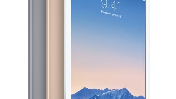 Das neue iPad Air 2 kommt jetzt mit Touch ID und besserer Kamera daher. (Quelle: Apple)