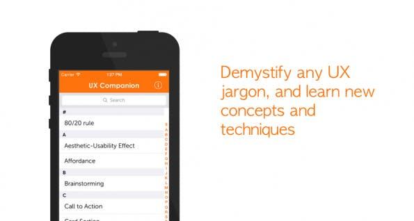 Screenshot: uxcompanion.com
