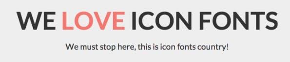 We Love Icon Fonts ähnelt Diensten wie Fontello, Fontastic oder IcoMoon. (Screenshot: We Love Icon Fonts)