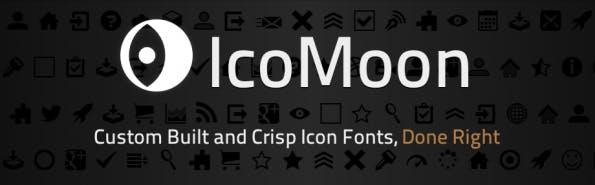 Der Klassiker unter den Icon-Font-Generatoren: IcoMoon.