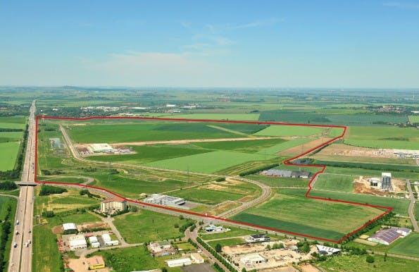 Lage des Industriegebietes. (Foto: Starpark Halle)
