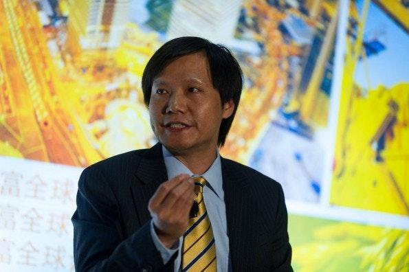 Mit Xiaomi Tech will Lej Jun der erfolgreichste chinesische Smartphone-Hersteller werden. (Foto: Stefen Chow/Fortune Global Forum, via flickr, Lizenz CC BY-ND 2.0