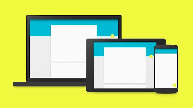 Leitfaden für Material Design: Google veröffentlicht Style-Guide für Android-Apps