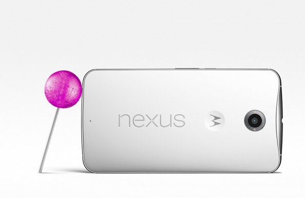 Das Nexus 6 stammt von Motorola – kam aber erst nach dem Verkauf des Unternehmens an Lenovo vorgestellt. (Bild: Google)