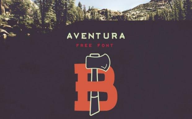Kostenlose Fonts: Aventura stammt von dem US-Amerikaner Jimmy Kalman. (Grafik: Jimmy Kalman)