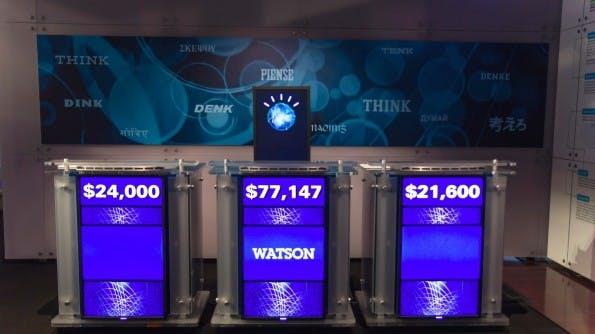 IBM: Der Jeopardy-Gewinner Watson stellt sich in Form von acht APIs in den Dienst von Drittanbietern. (Foto: Atomic Taco / Flickr Lizenz: CC BY 2.0)