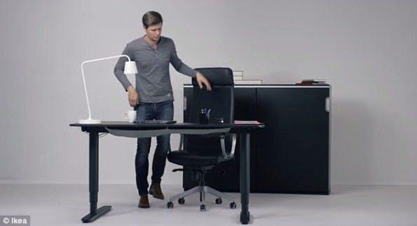 Standing Desk Bekant IKEA