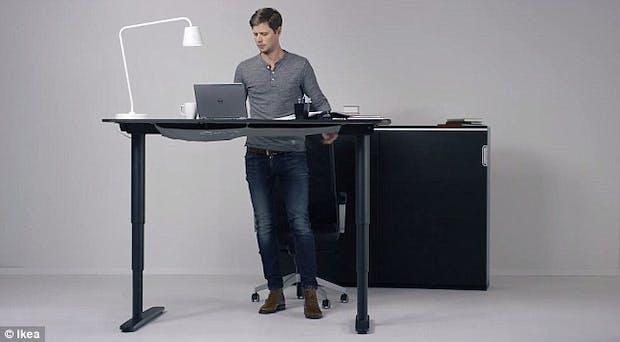 IKEA stellt Standing Desk vor: 7 gute Gründe für das Arbeiten im Stehen