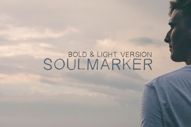 Soulmarker ist ein ungewöhnlicher Handschriften-Font. (Grafik: Syed Faraz Ahmad)